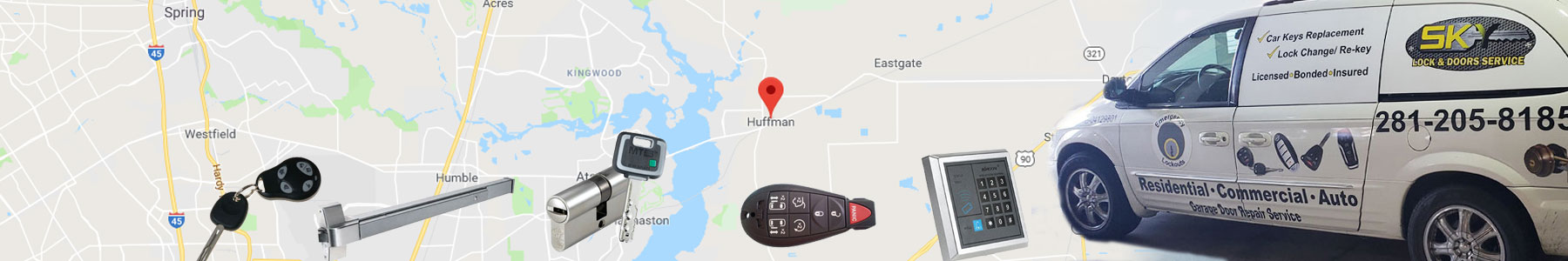 Huffman Texas Locksmith Services