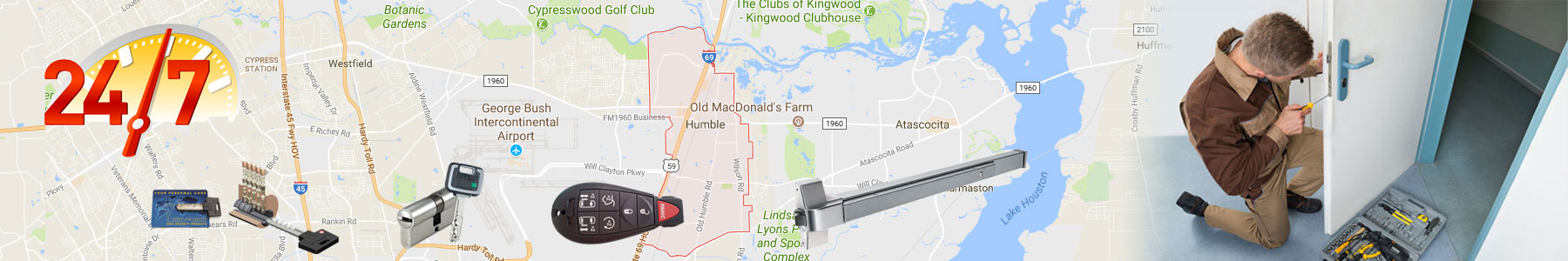 Humble, Texas Locksmith Services
