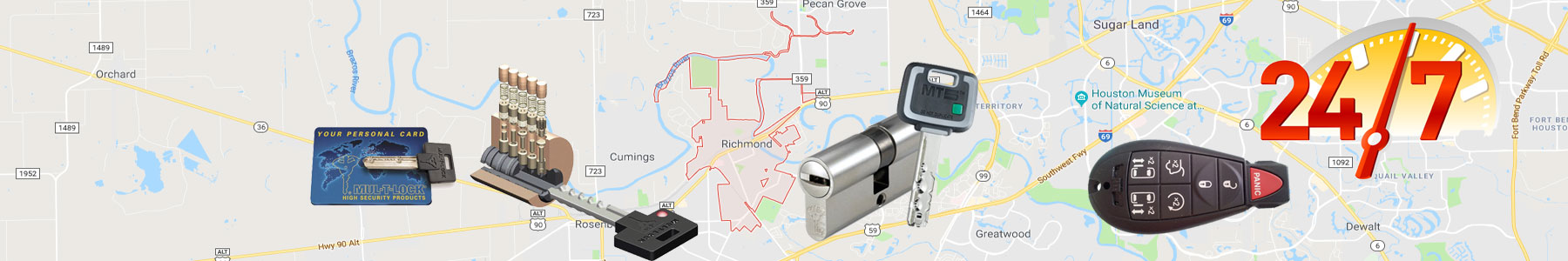 Richmond, Texas Locksmith Services