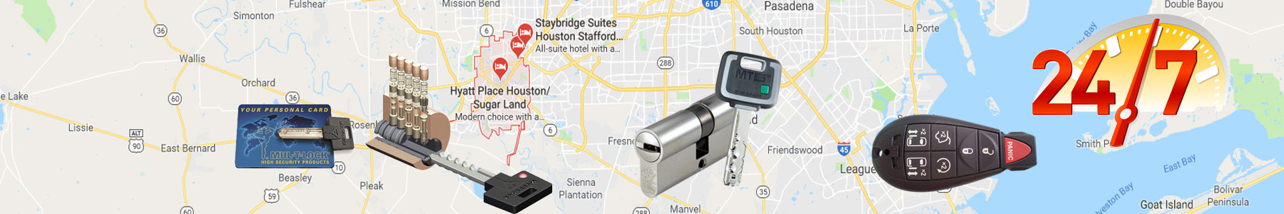 Sugar Land, Texas Locksmith Services